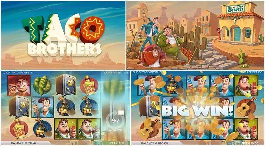 Nothing But Blue Skies Big Brother >> Play Taco Brothers Slot Machine For Free Slots Bonanza